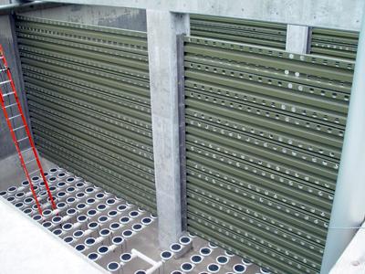Fiberglass Fabricators Inc Baffle Walls Composi Wall